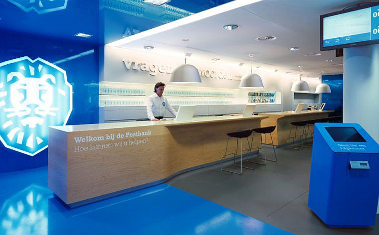 Branch Showcase Ing Pumpkin Corporate Interiors Corporate Office Design Retail Design