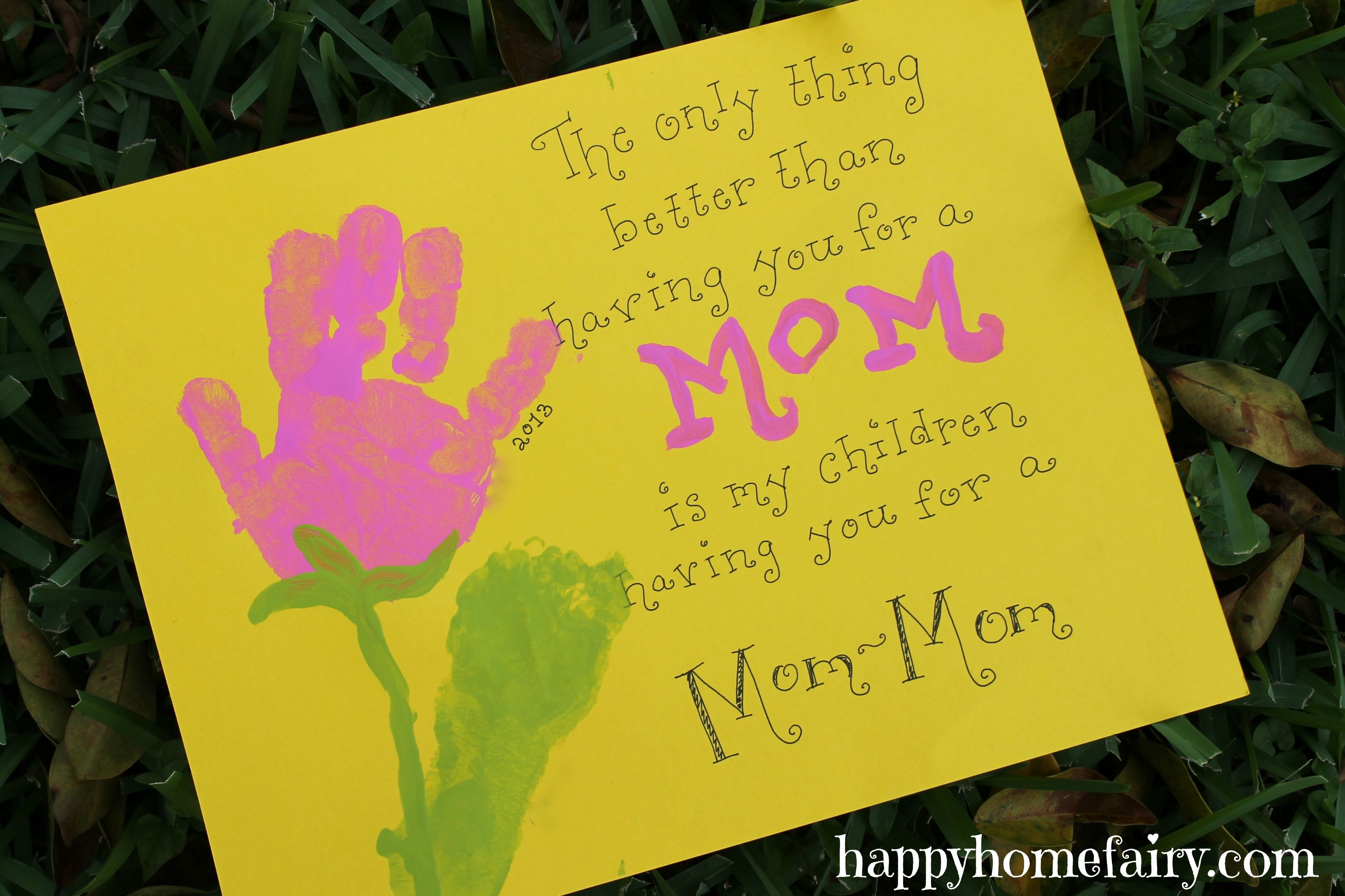 mothers-day-hand-and-footprint-art.jpg 3.318×2.212 pixels | Infant ...