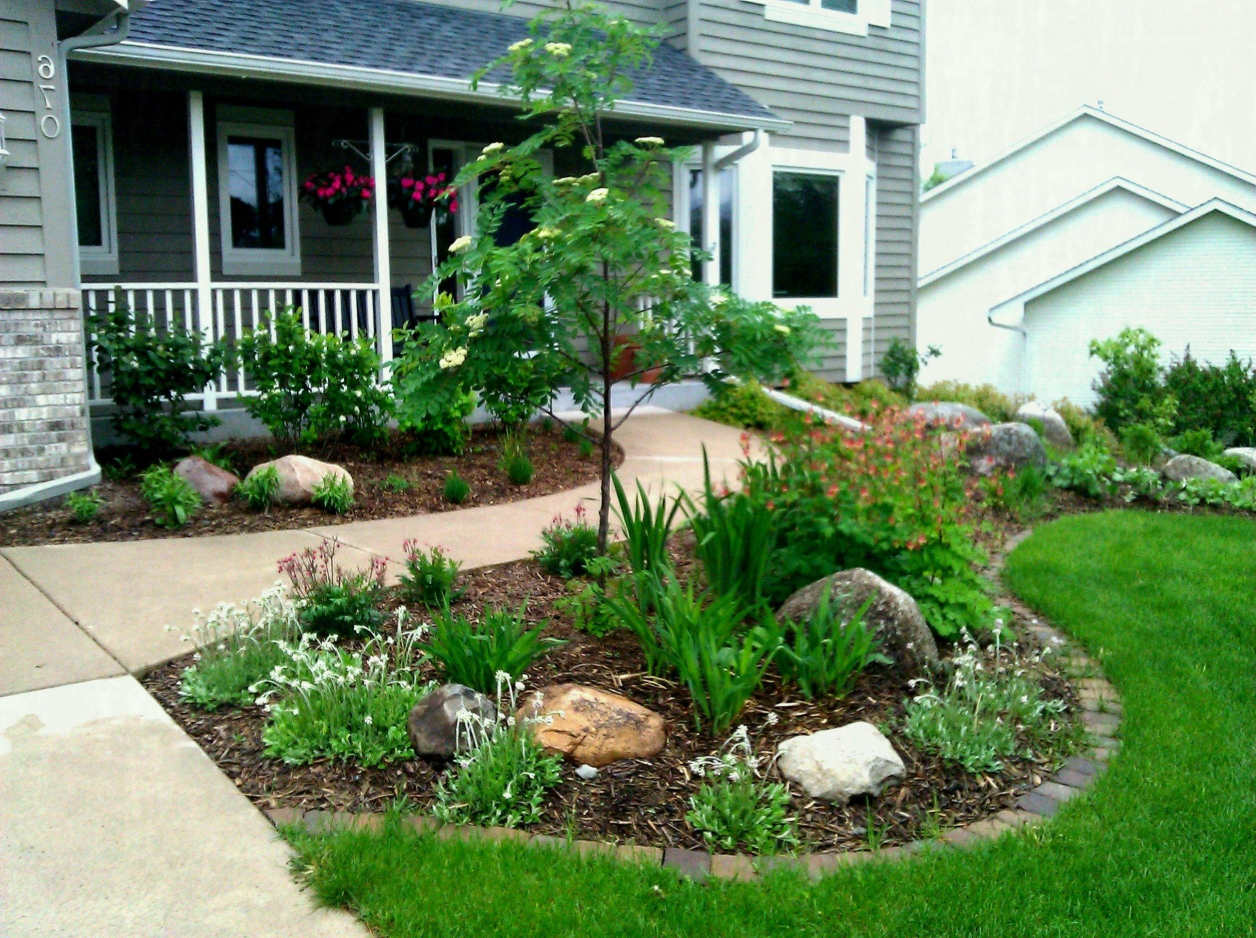 Garden Ideas Front House Stylish And Patio Small Yard Landscaping