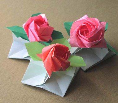 Puisi Bunga Kertas Bunga Kertas Ide Kerajinan Origami