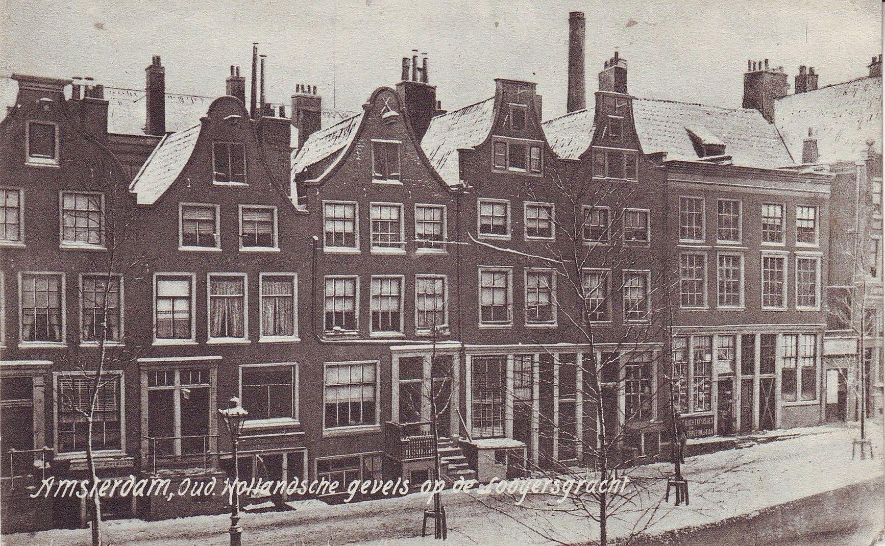 Amsterdam - Looyersgracht 1908