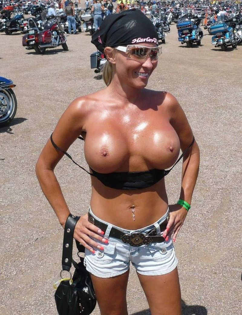 Whom Black biker women nude seems