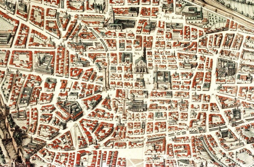 MAPPA DI BOLOGNA (CON POP-UP) - Folia | Mappa, Pop up ...