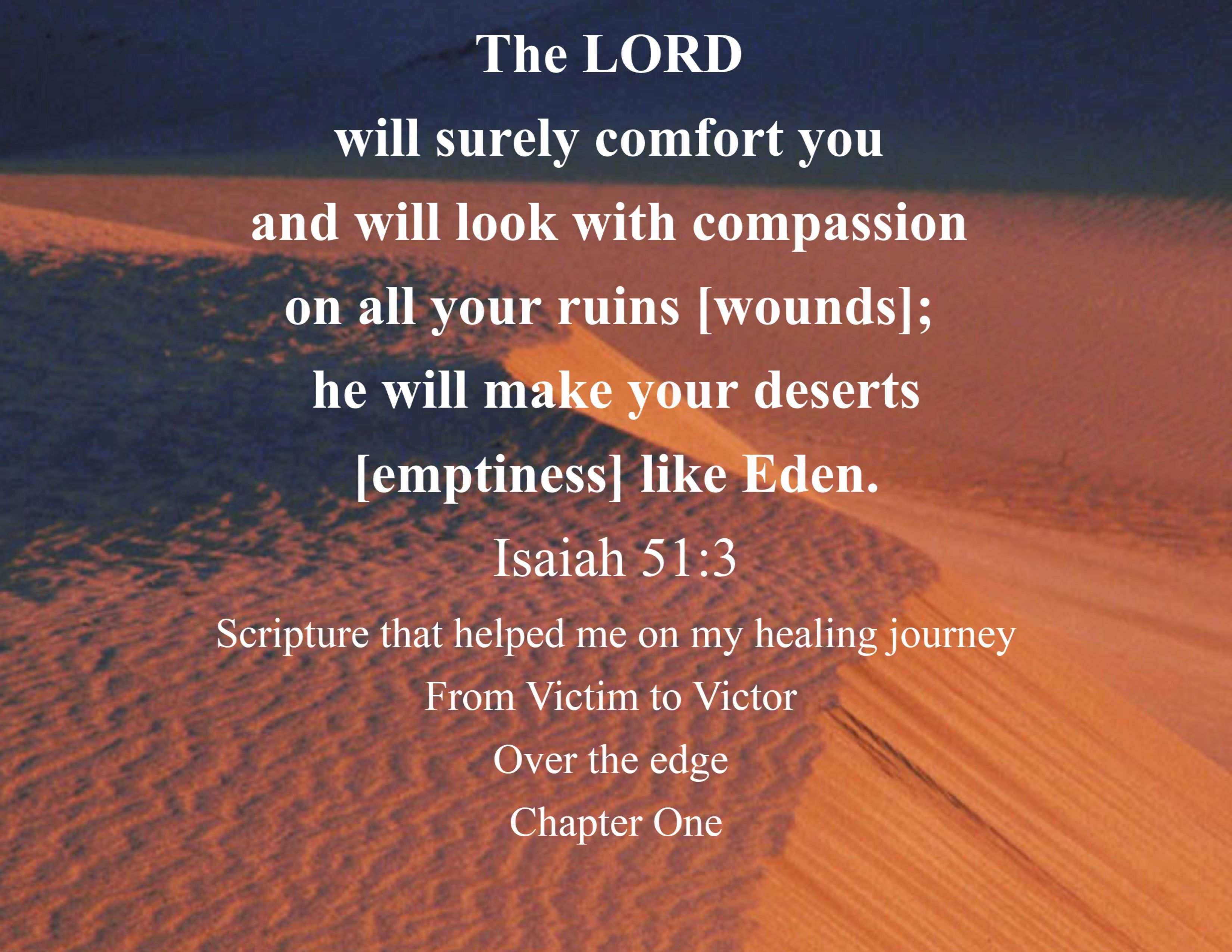 Scripture That Helped Me On My Healing Journey The Lord Will