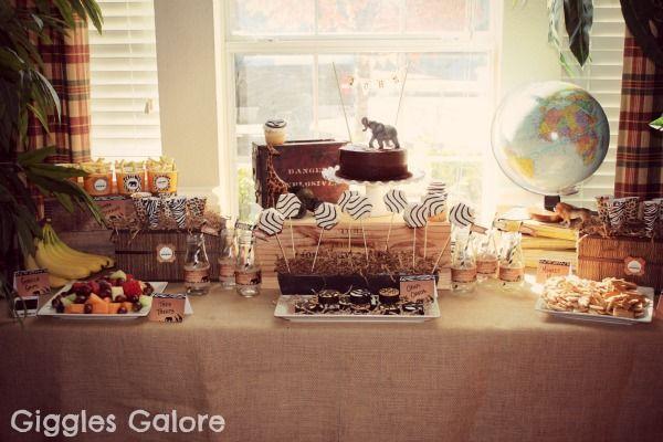 wild safari party safari party birthdays and birthday party ideas
