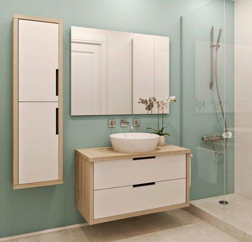 Muebles para Baño de Madera Decorar Baños Pinterest