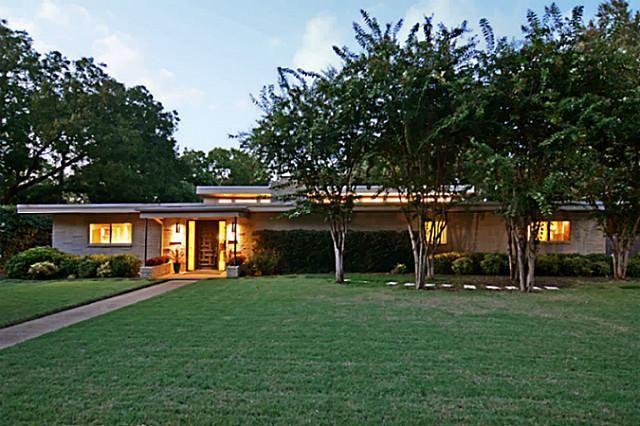 3923 Cobblestone Drive, Dallas TX.  Built in 1962.