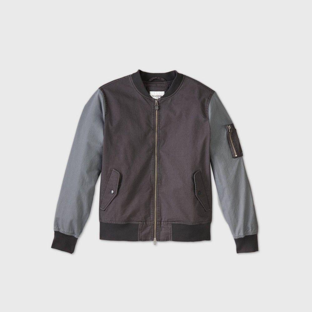 Men S Colorblock Bomber Jacket Goodfellow Co Gray M In 2020 Bomber Jacket Waterproof Jacket Men Grey Bomber Jacket [ 1000 x 1000 Pixel ]