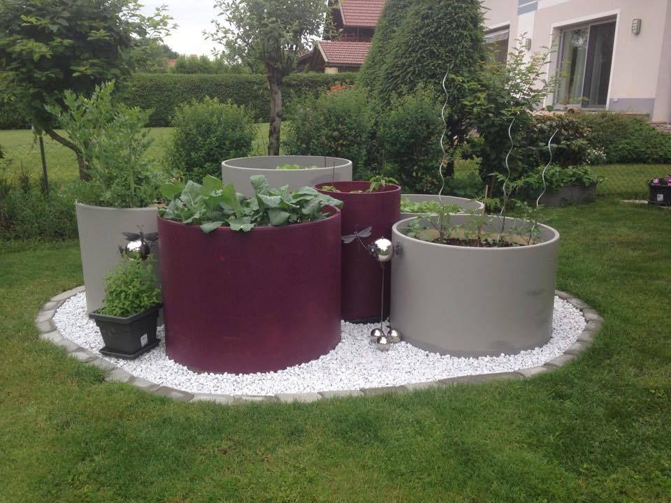 Hochbeete Aus Rohren Garten Garten Ideen Gartengestaltung