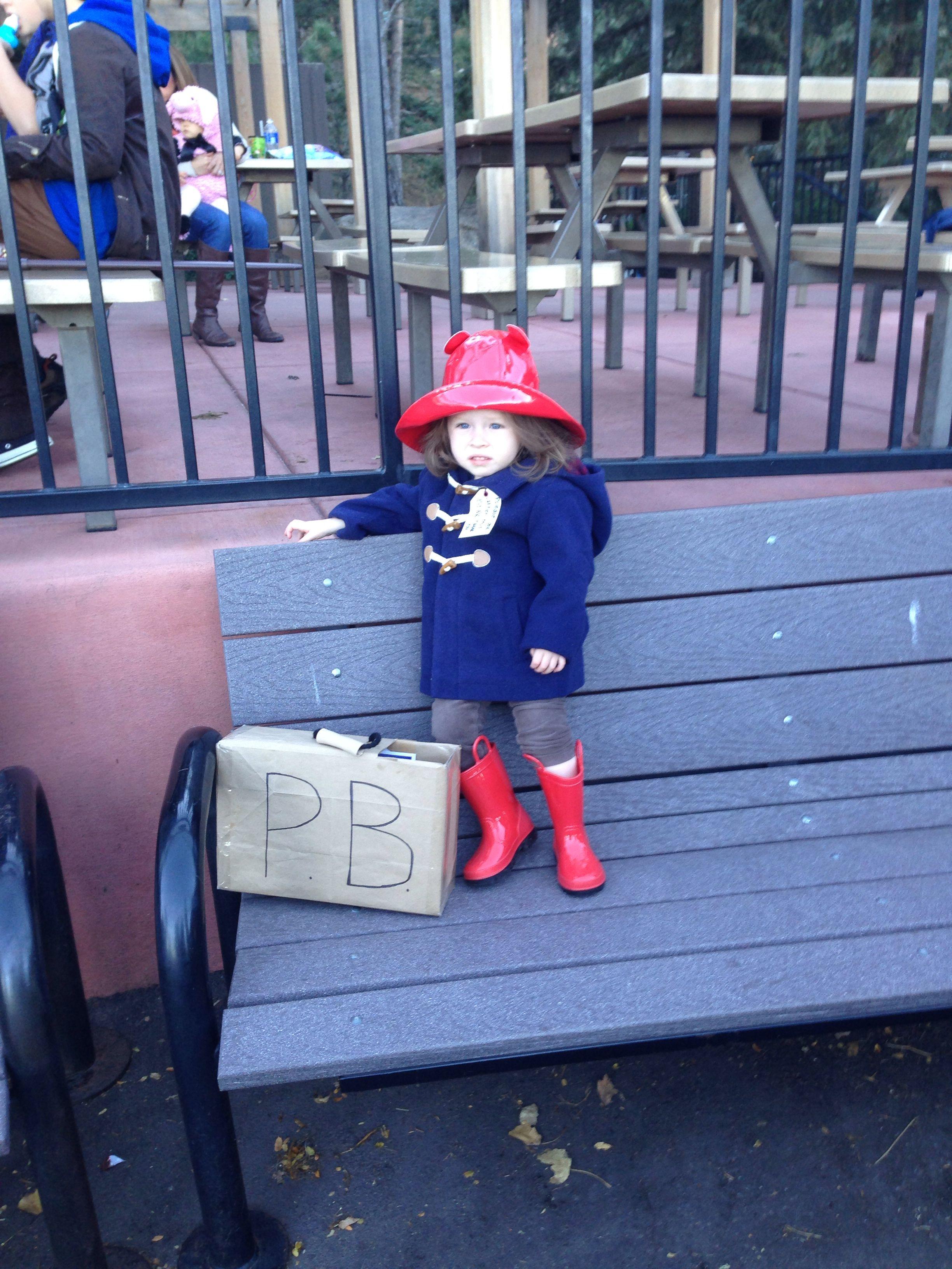 Paddington Bear toddler Halloween costume  Carters duffle