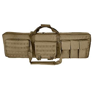 """Coyote 36"""" Double Rifle Case with Mat"""