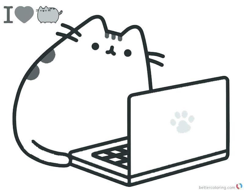 Get These Pusheen Coloring Pages And Have Fun With It Free Coloring Sheets Pusheen Coloring Pages Cute Coloring Pages Free Printable Coloring Pages