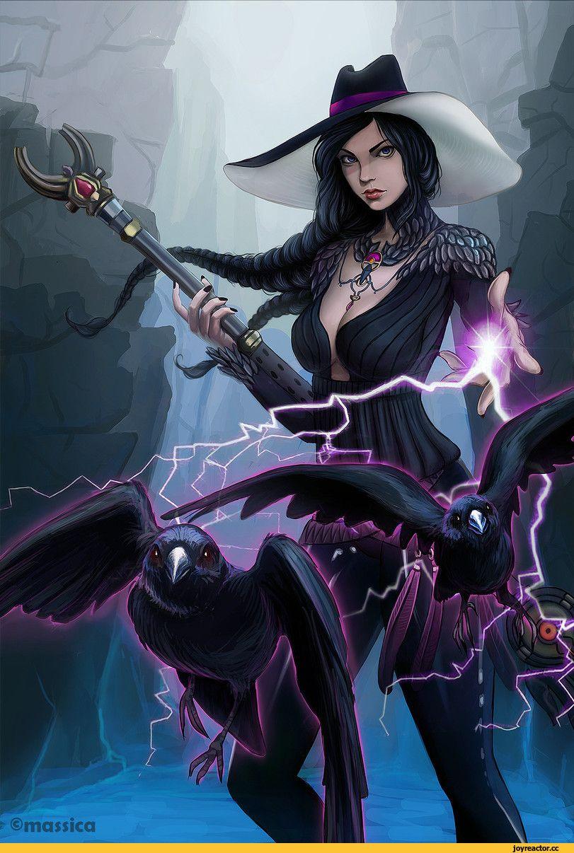 картинки арт ведьмочки продуманная концепция