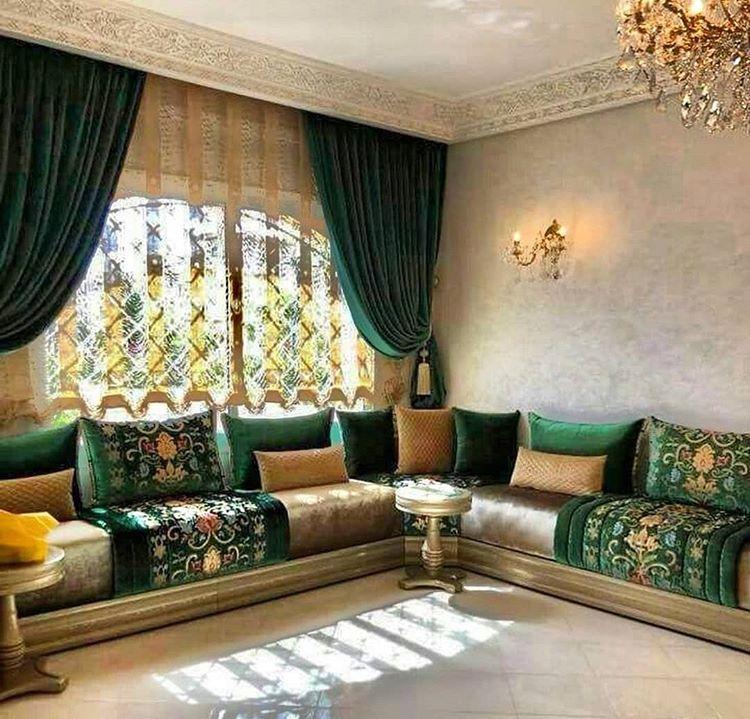 Ijlal Sordo Sur Instagram Decorbilal Artdeco Salonmarocain Nouveaucompte Tissu Design Maroc Moroccan Living Room Home Furniture Design Living Room