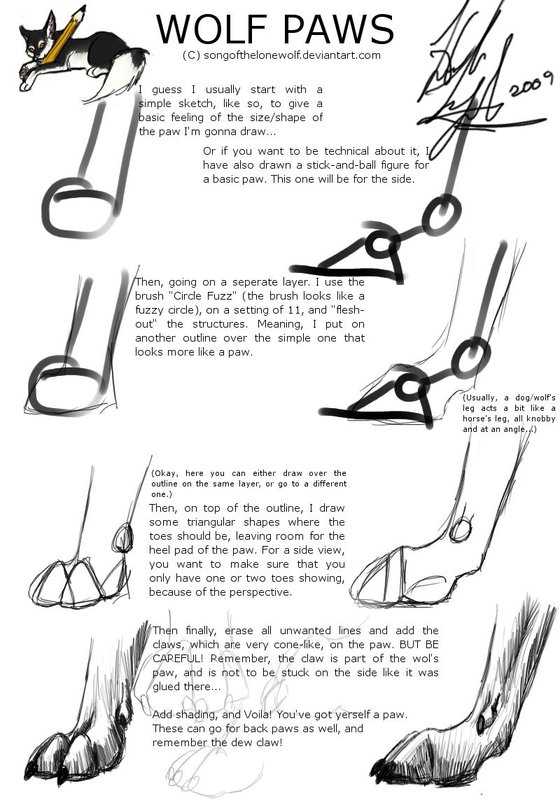 wolf leg outline wiring diagrams