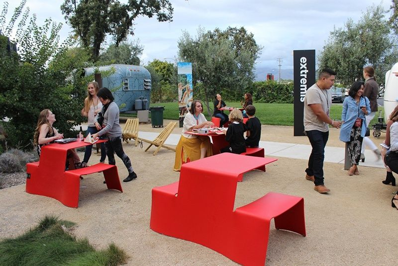 Extremis Picnic Red Outdoor Furniture Outdoor Design Furniture Workspace Event Usa Office Furniture Design Workplace Furniture Design