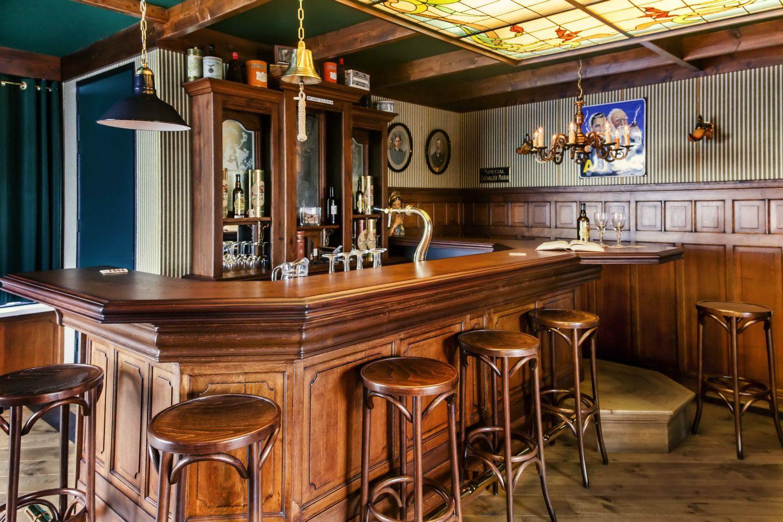grand caf interieur bruin caf horeca interieurbouw barbouw op maat oudewater