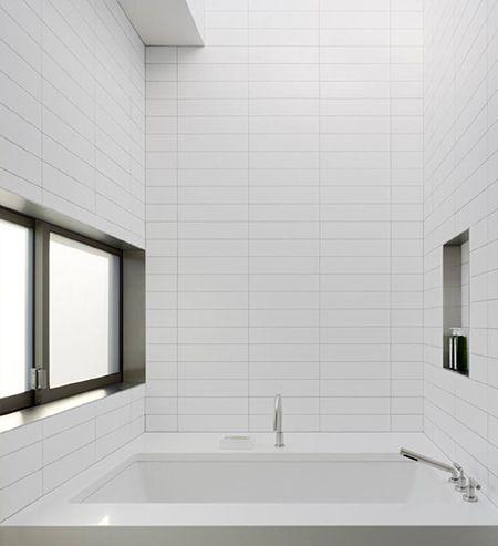 Subway Tile Pattern modern white subway tiles | bathroom | pinterest | tile patterns