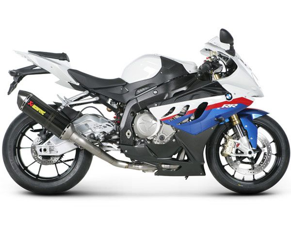 Akrapovic Racing Full Exhaust System (Hex) for S1000RR 10-13 - Full Exhaust Systems - Exhaust - Street Parts - SoloMotoParts.com - Motorcycle Parts, Accessories and Gear
