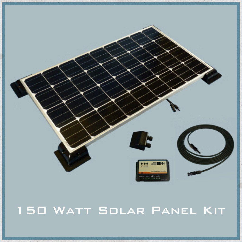 150w Solar Panel Caravan Motorhome Kit Best Solar Panels Solar Panels Solar