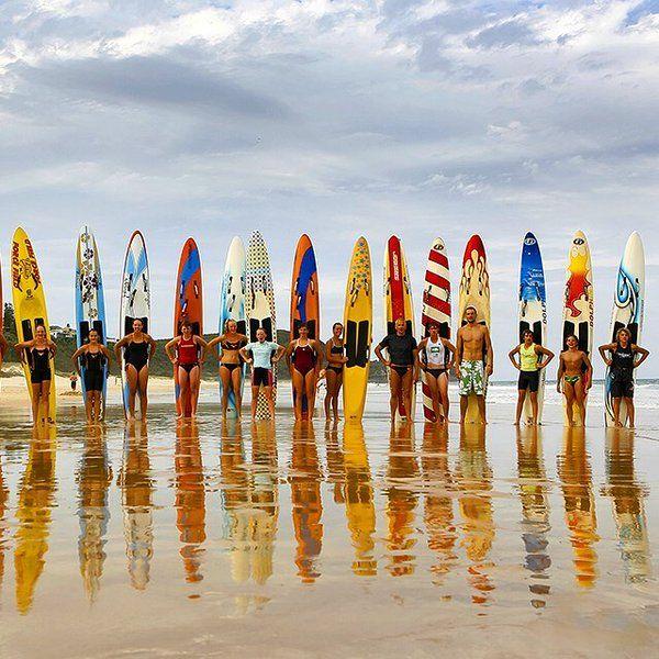 Who's ready for the @noosa_surf_fest? Pic: @paulsmithimages #VisitSunshineCoast @Queensland @Australia  www.parkmyvan.com.au #ParkMyVan #Australia #Travel #RoadTrip #Backpacking #VanHire #CaravanHire