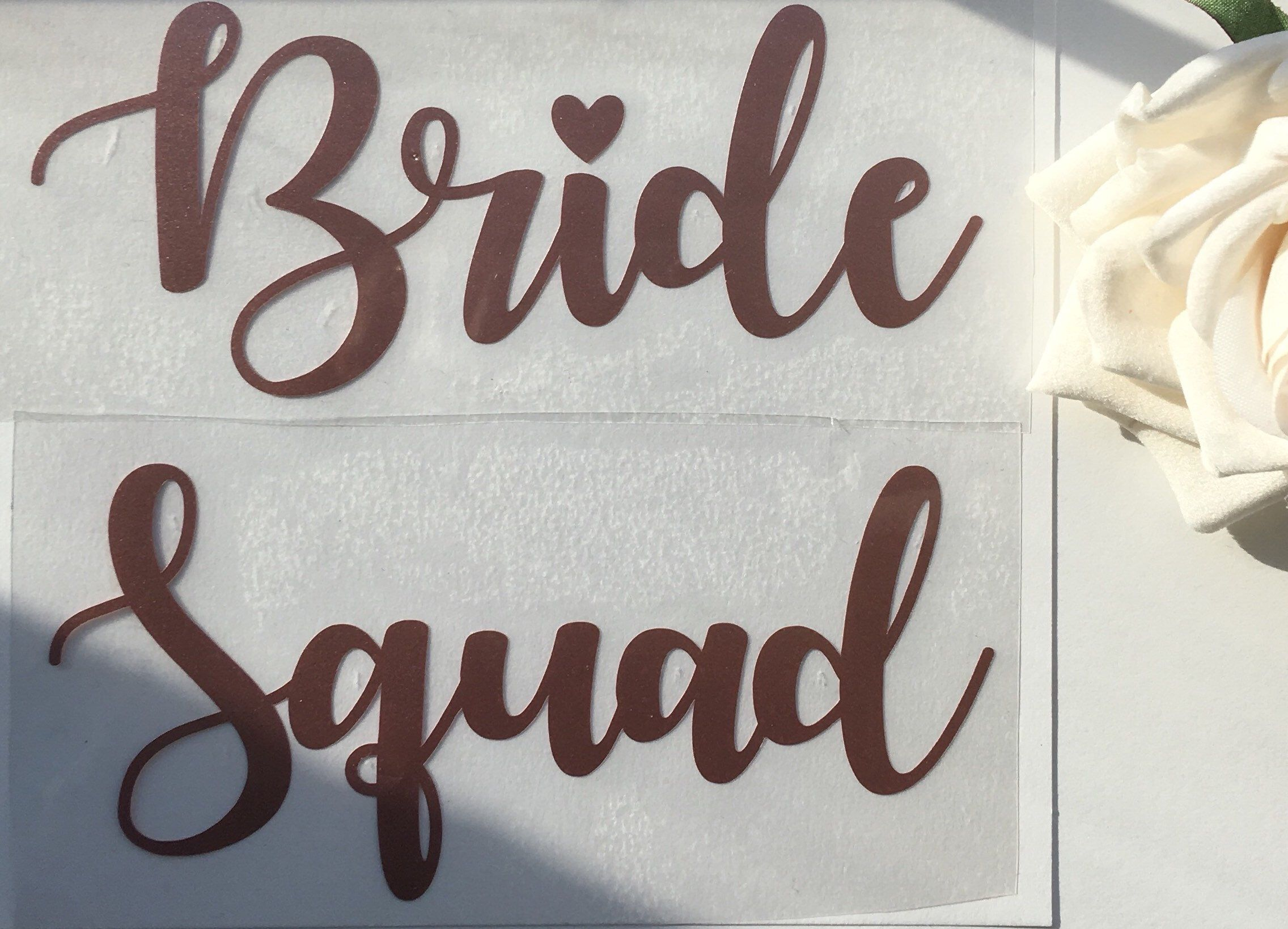 Bride To Be Iron On Transfer Pink Hen Night Party Plain Text