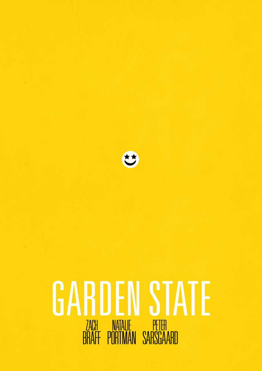Garden State 2004 Minimal Movie Poster By Cameron Locklee