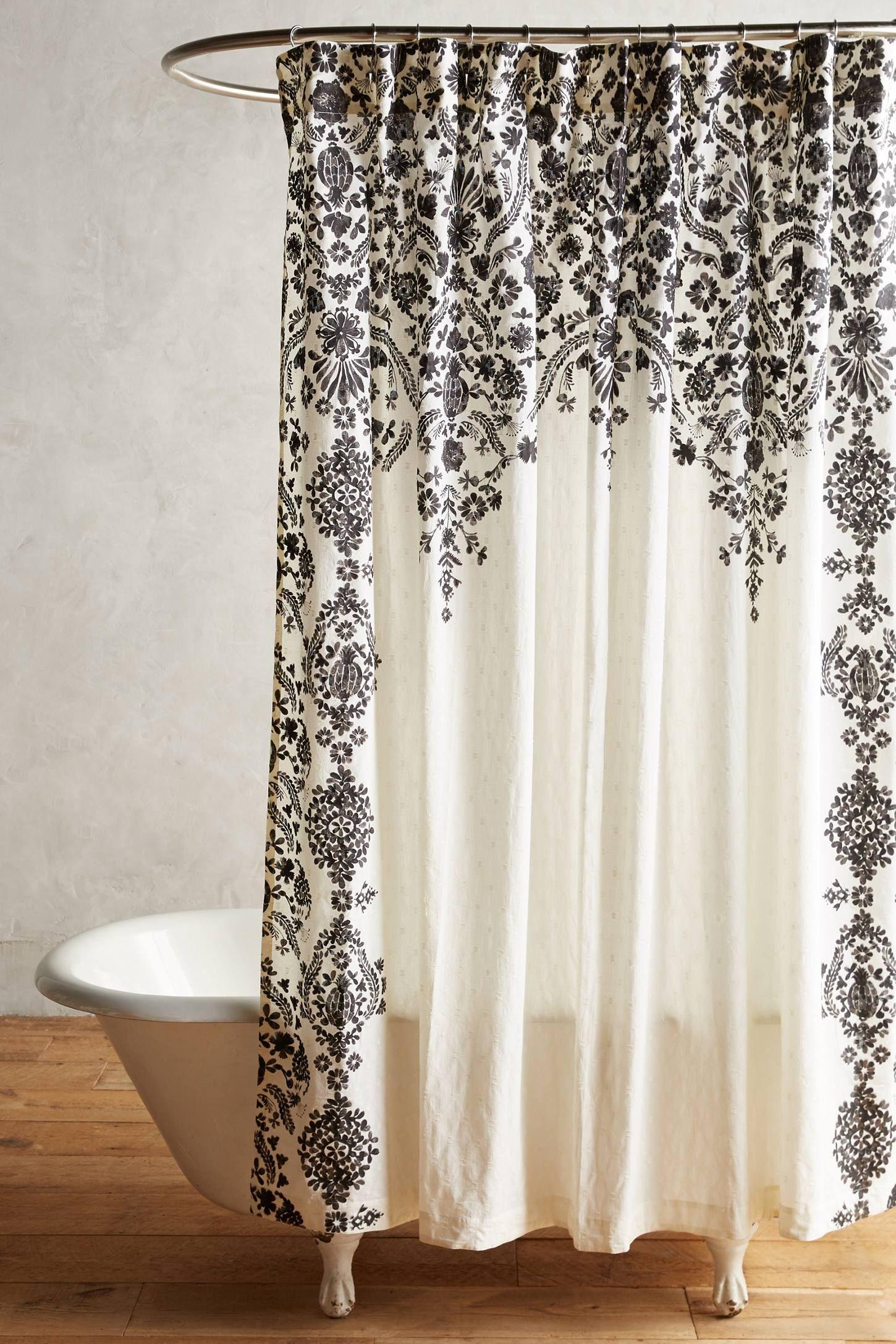 Estienne Shower Curtain Unique Shower Curtain Fancy Shower Curtains Bathroom Shower Curtains