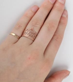 Catbird::WHAT'S NEW: jewelry::Her Majesty's Crown Ring