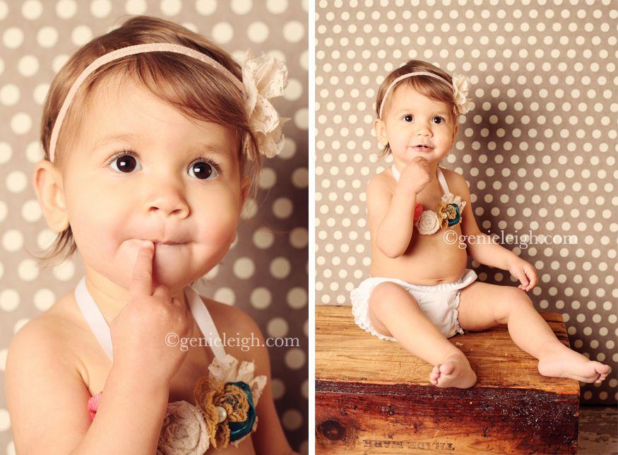 So Adorable! First Birthday Photo shoot