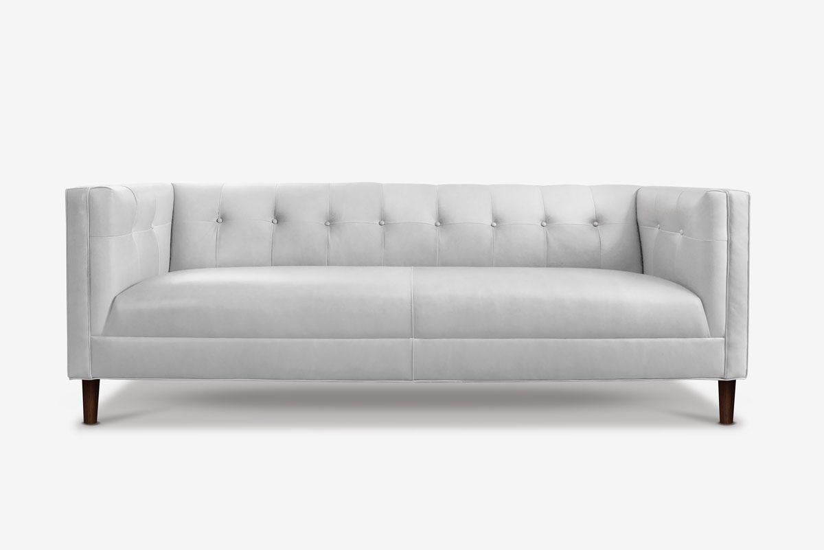 The Holiday Custom Tight Seat Tuxedo Sofas More Mod Furniture