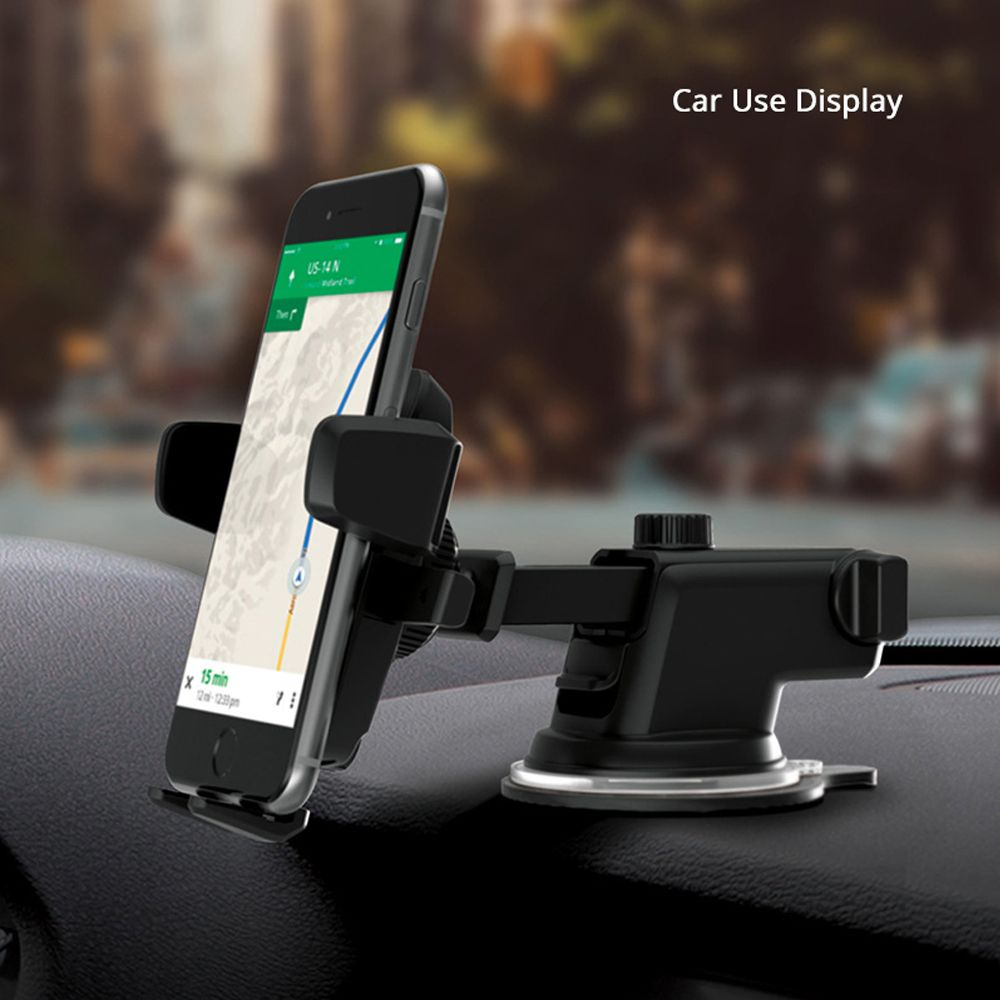 Universal Car Phone Holder Windshield Suction pop socket Mount ...