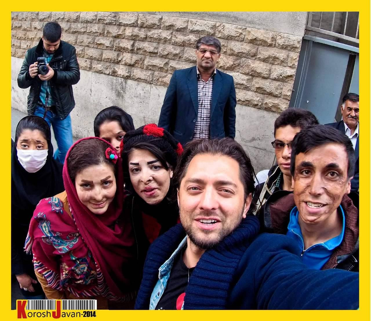 ♥ - bahramradan - bahram radan - بهرام رادان - اهدای کمک های جمع شده به بچه های مرودشت