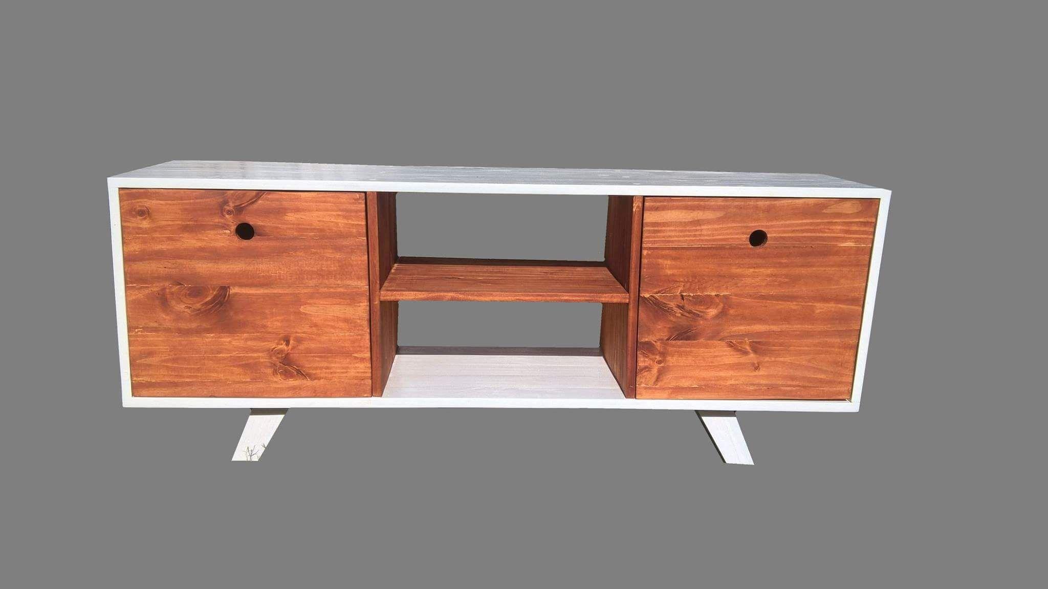 Rack tv, madera de pino. La Rioja, Argentina | Métrica, muebles y ...