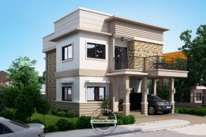 Juliet story house with roof deck pinoy eplans also modern homes rh pinterest