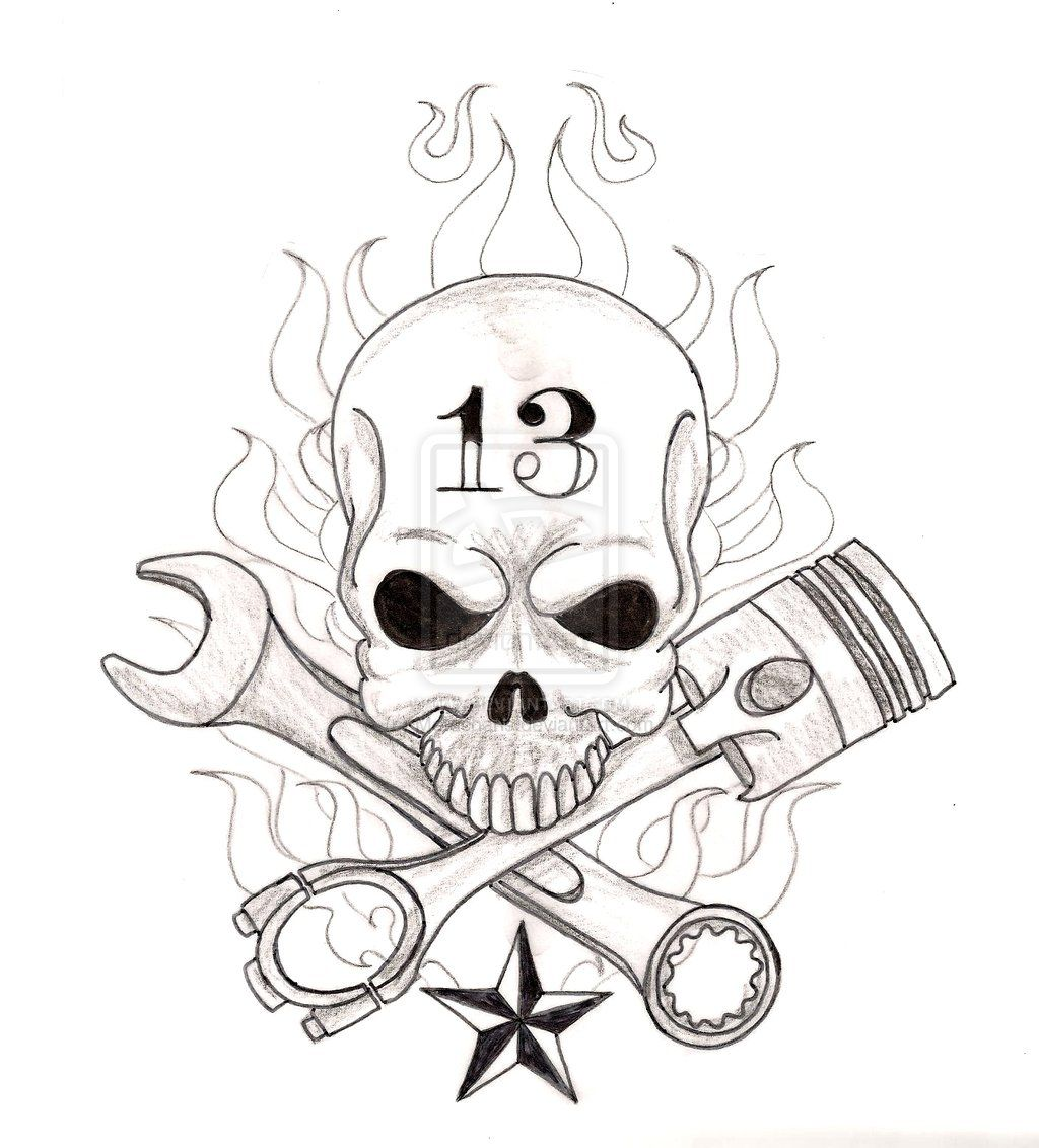 Pin By Marie Sophie Archambeau On Tattoos And Flash Piston Tattoo Wrench Tattoo Tattoos