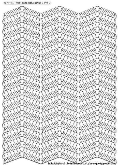 As Receitas de Crochê: VESTIDO DE CROCHÊ COM MANGAS | HM | Pinterest ...
