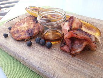 Blueberry Buckwheat pancakes!