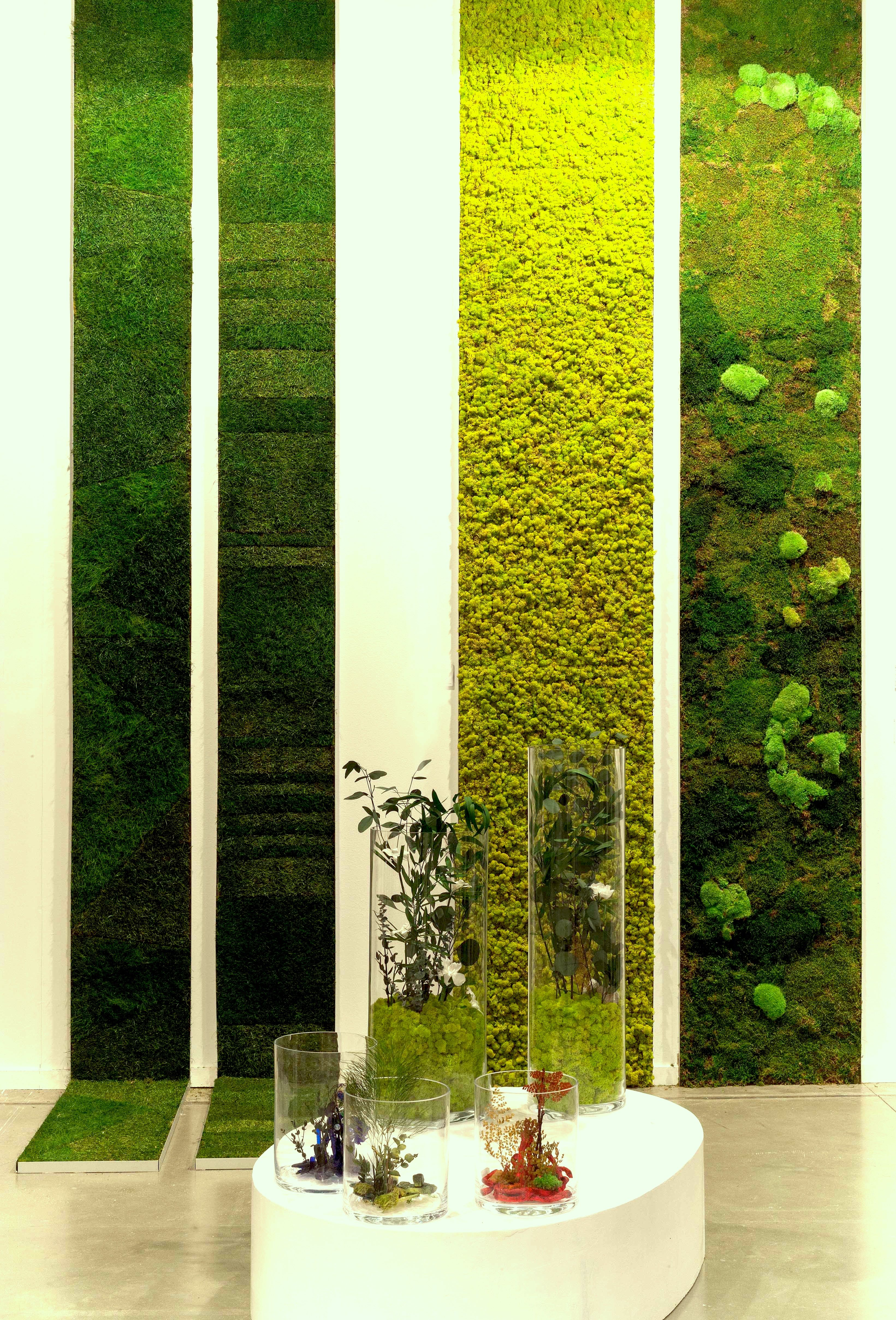 JARDINES VERTICALES | Moss art, Greenery pantone and Living walls