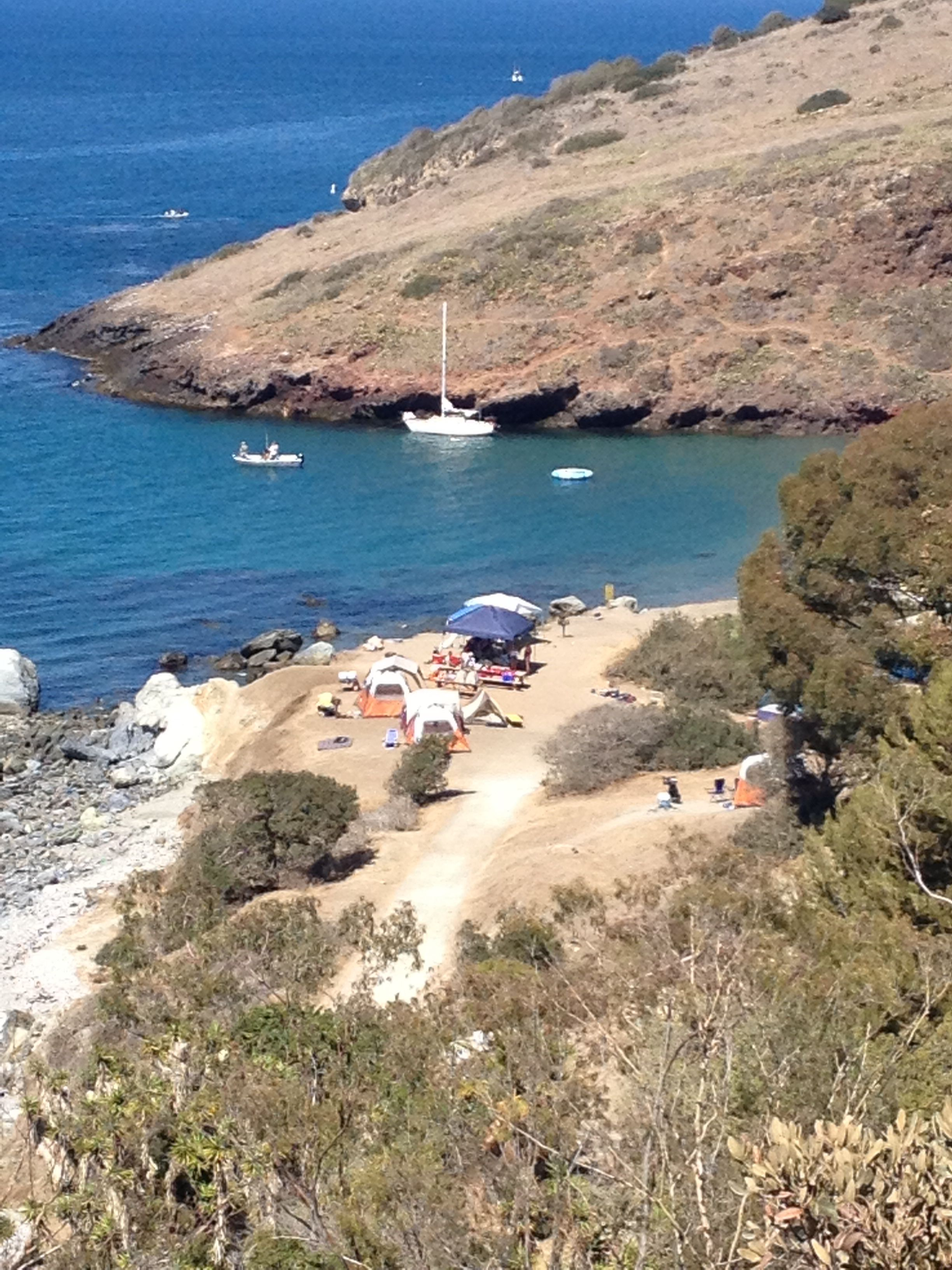 Two Harbors Catalina Campsite With Images Two Harbors Catalina Catalina Island Santa Catalina Island