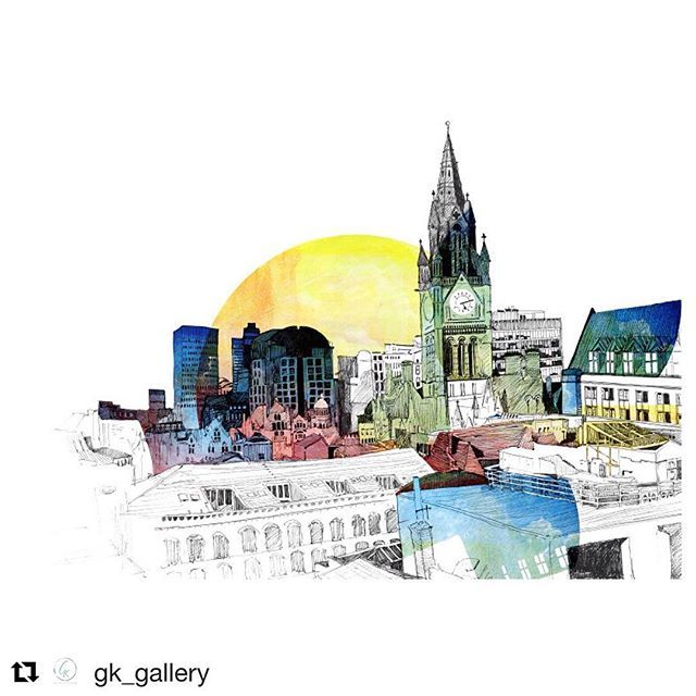 @gk_gallery is such a lovely gallery space with a treat of delicious cakes to choose from  #gkgallery #salford #lovesalford #justacard