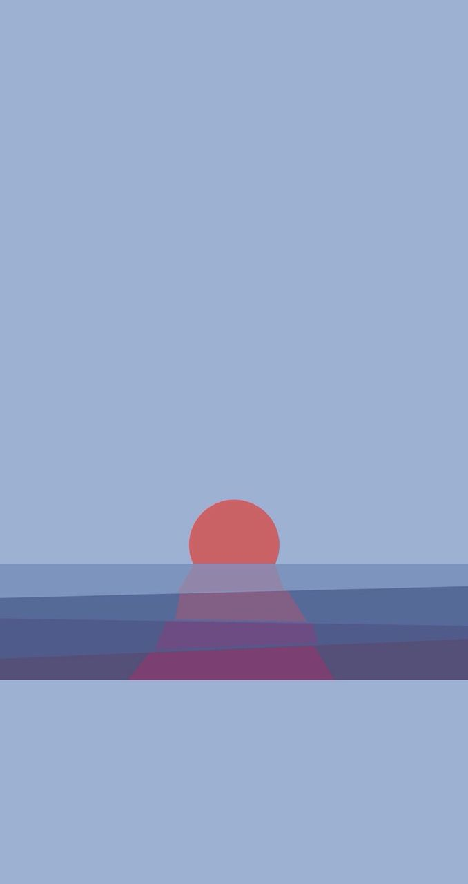Sunset Find More Minimalistic Iphone Android Wallpapers