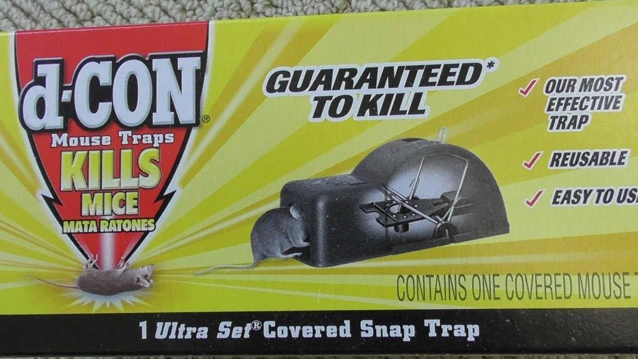 D-con Mouse Trap Returned FAILED Review