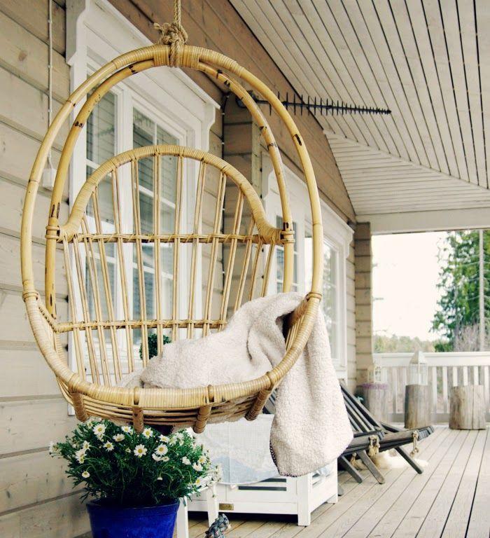 Tarja's Snowland, http://tarja-snowland.blogspot.fi, log home, terrace, scandinavian home