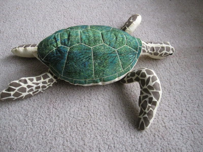 Sea Turtle Sewing Pattern - http://pinterest.com/allsewingpins ...