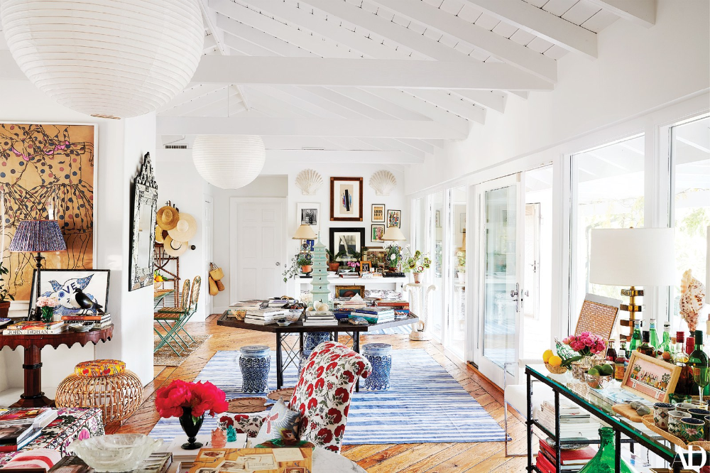 Rebecca de Ravenels Charming L.A. Home Marries Carefree Island Style With Worldly Panache