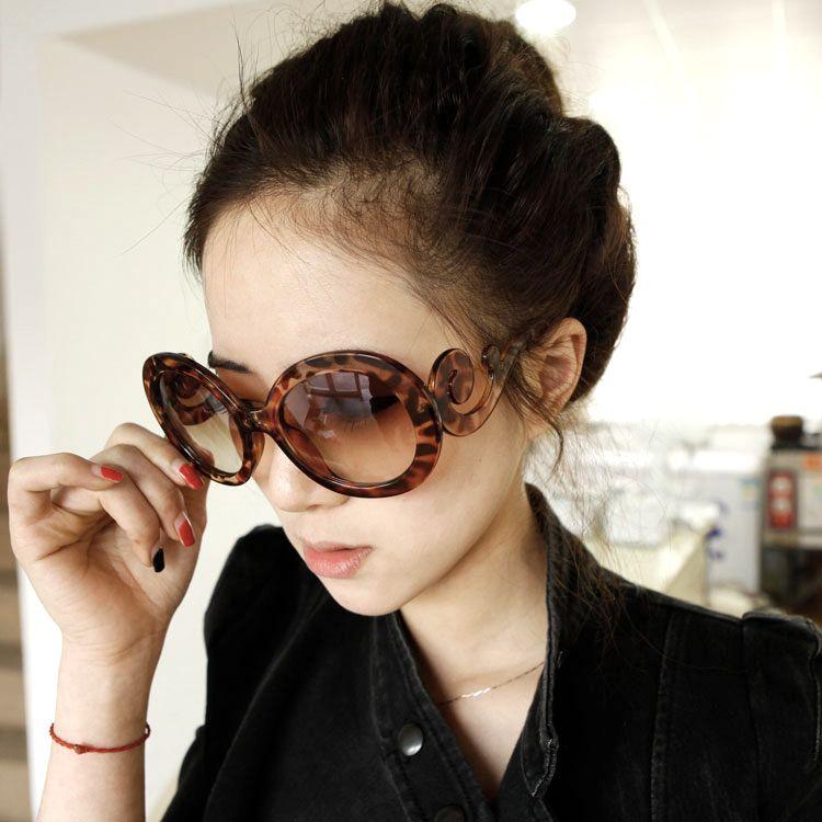 نظارات شمسية نسائية 2014 Oval Sunglass Style Sunglasses