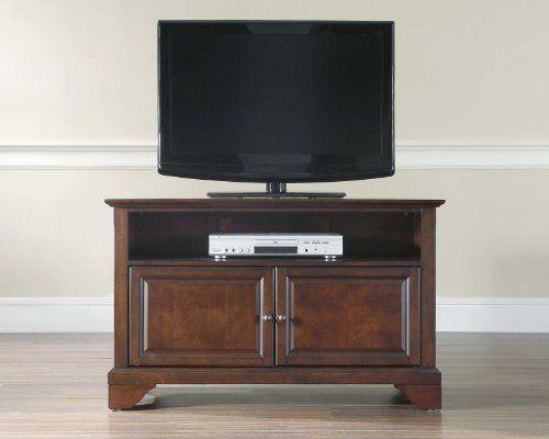 Crosley Furniture LaFayette 42 Inch TV Stand, Vintage Mahogany