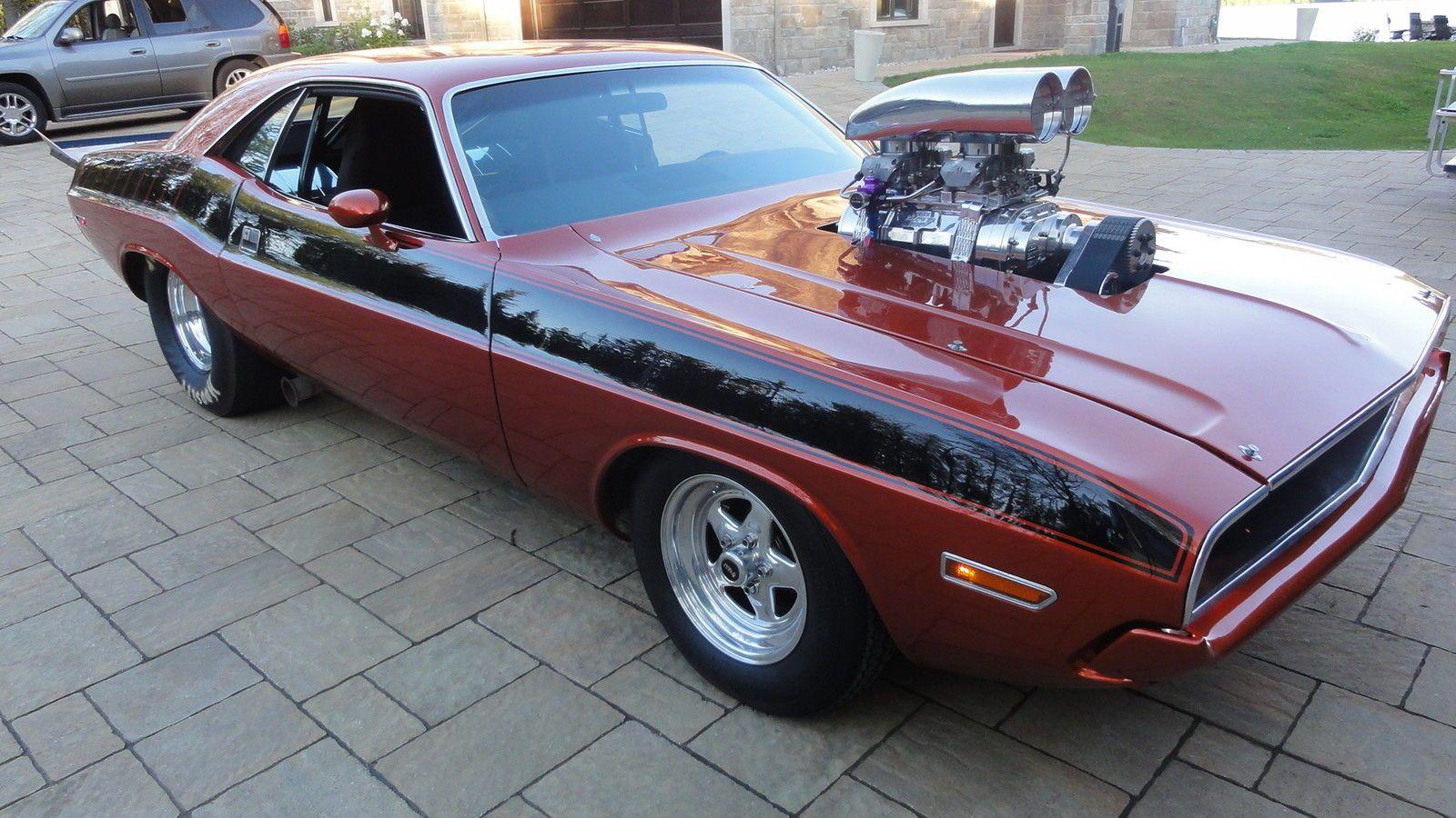 1970 dodge challenger r t 8 71 blown 490ci 1200hp keith black