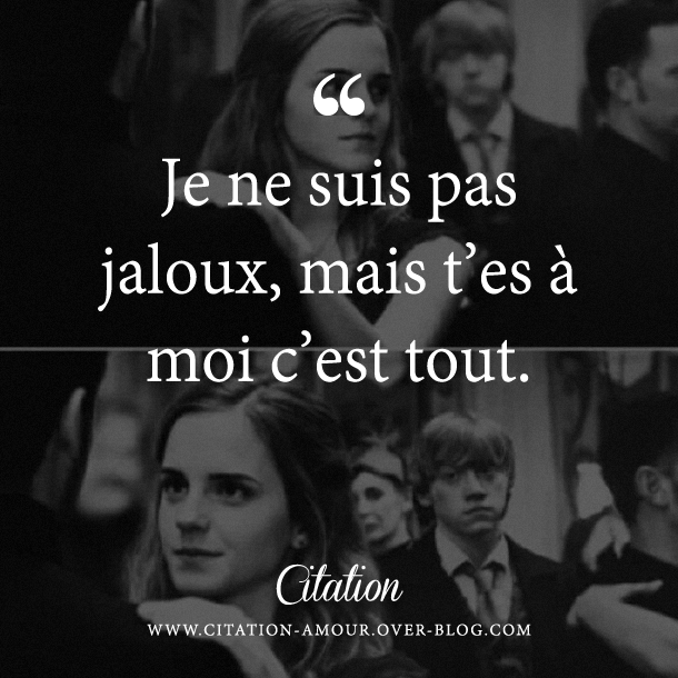 citation t'es a moi